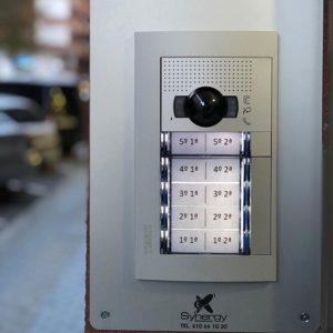instalación videoportero 10 vecinos