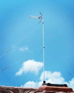 instalación de antena tdt 4 metros