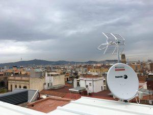 synergy, instalación antena televisión y SAT