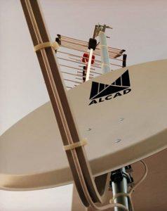 instalación antena televisión UHF y SAT