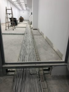 instalación de redes en grandes oficinas